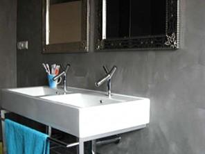 Pandomo stucwerk badkamer