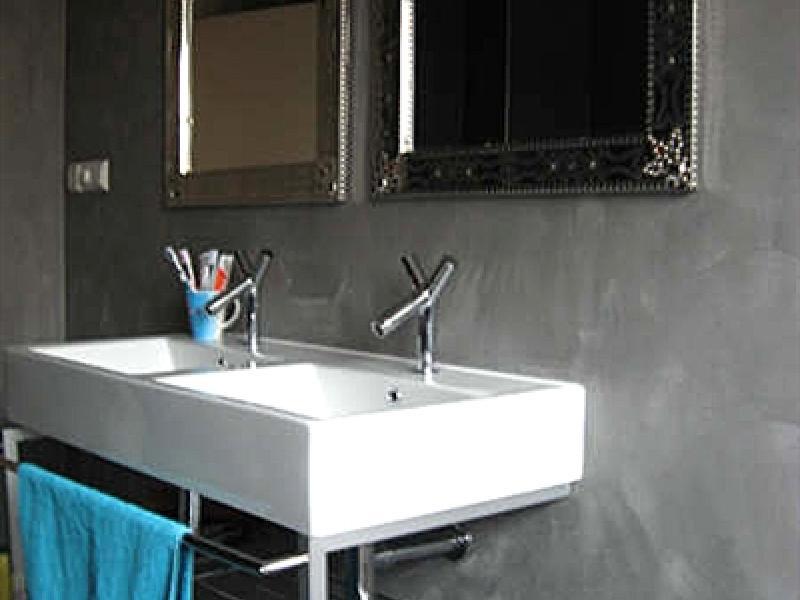Stucwerk voor in badkamer home design idee n en meubilair inspiraties - Badkamer in m ...